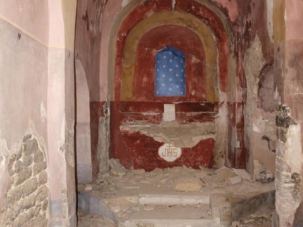 La lista roja de patrimonio en riesgo incluye 32 monumentos del Alto Aragón