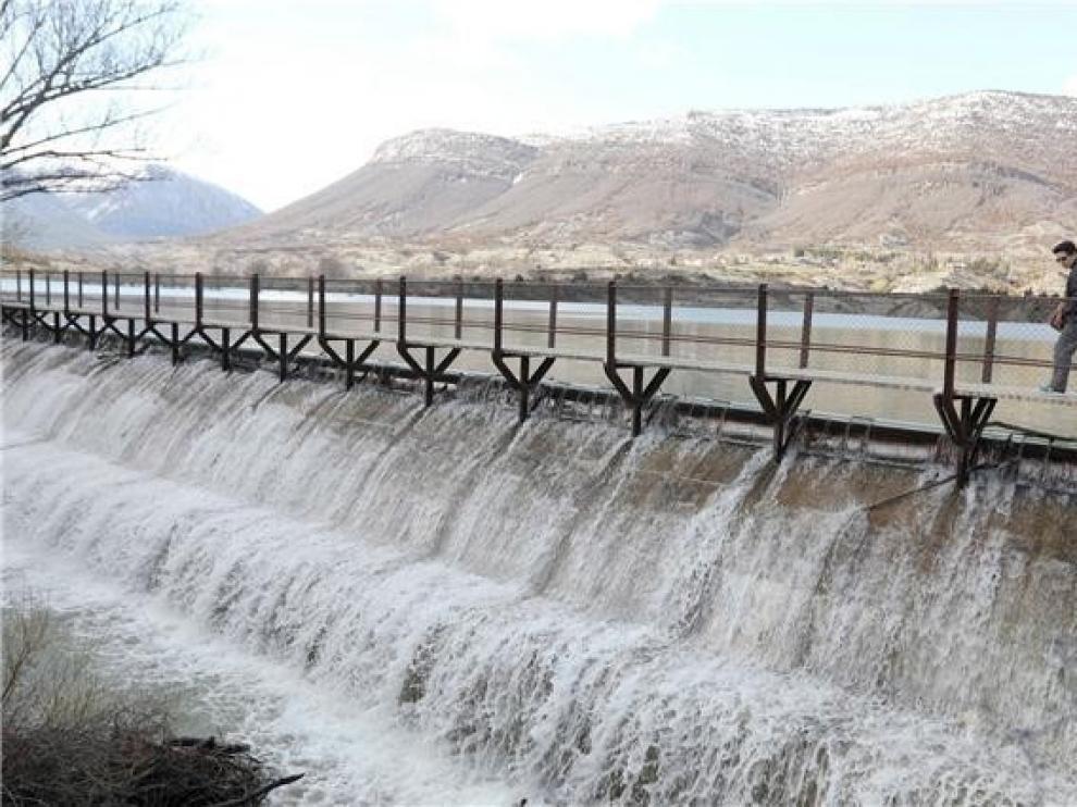 Los embalses de la cuenca del Ebro están al 63% de su capacidad