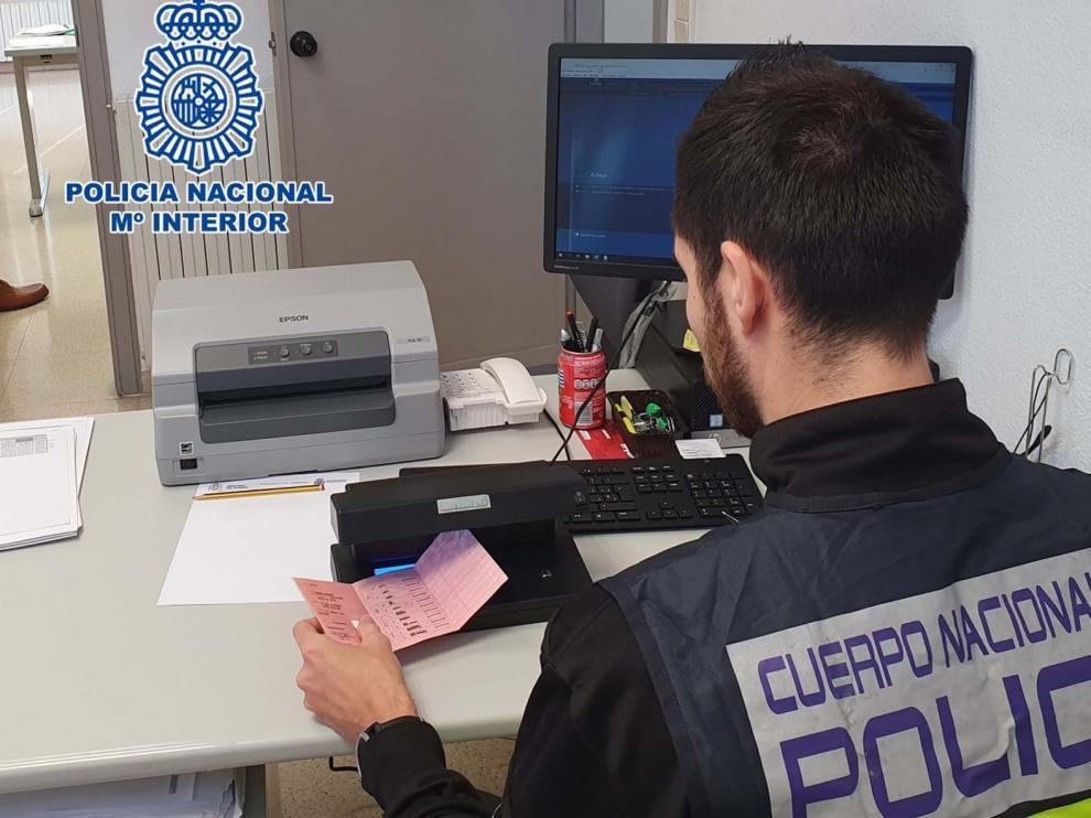 Un detenido por extorsionar a usuarios de páginas de contactos por las denuncian interpuestas en Huesca