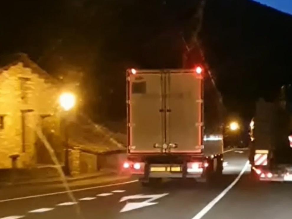La Guardia Civil ha investigado al conductor de un camión por un adelantamiento extremadamente peligroso en Sopeira
