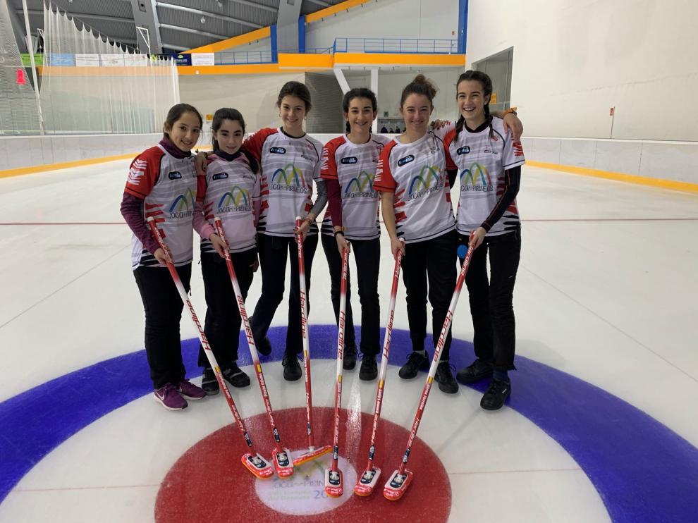 El Club Hielo del Pirineo juega el Nacional absoluto femenino de curling