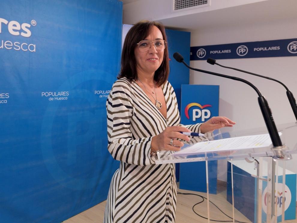 """Gemma Allué: """"No nos podemos conformar con las medallas que se cuelga el alcalde, como el cuartel o Amazon"""""""