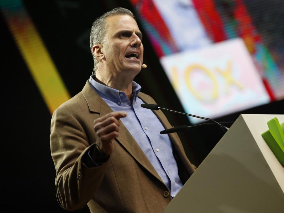"""Ortega Smith da positivo en coronovirus y Vox asume el """"error"""" de Vistalegre"""