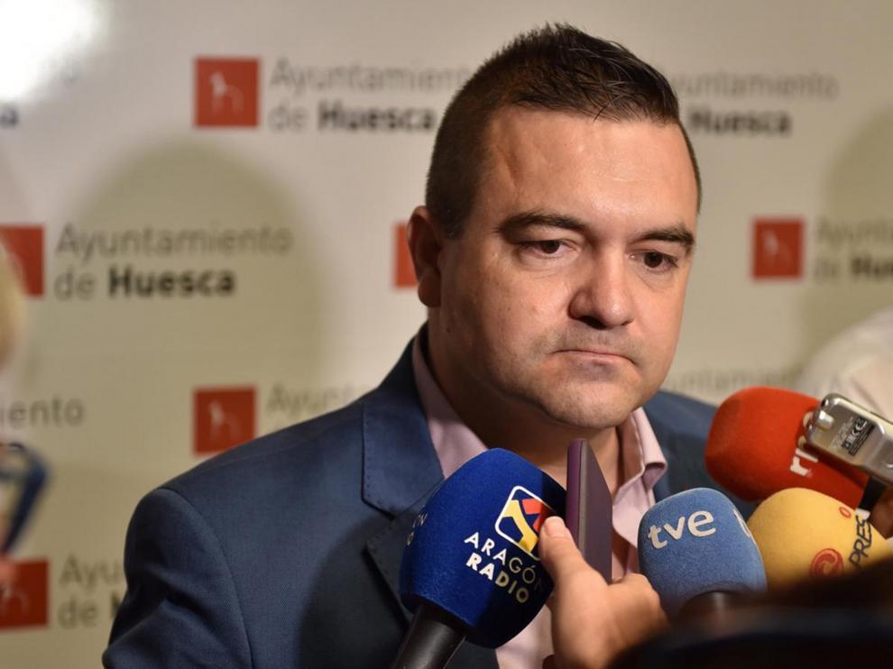 Antonio Laborda, el concejal de Vox, primer caso de coronavirus en Huesca