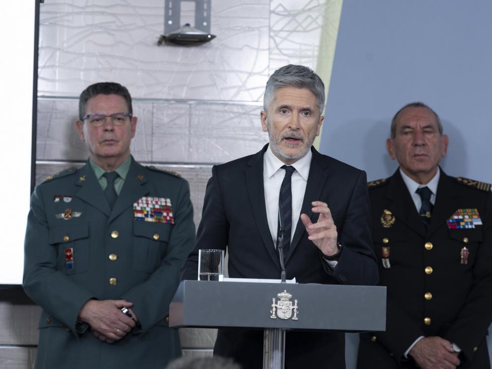 """Marlaska: """"El Gobierno se plantea 'todas las posibilidades' tras el 12 de abril"""""""