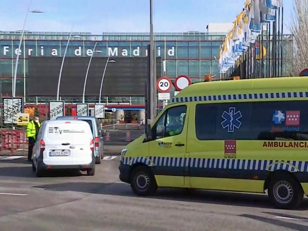España encadena tres días con menos de 300 muertos, que superan ya los 25.000