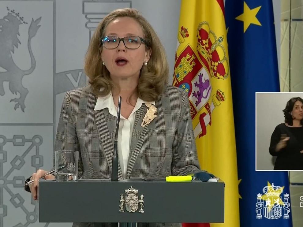 """Calviño pide evitar el """"ruido"""" del rescate y apoya la propuesta francoalemana"""