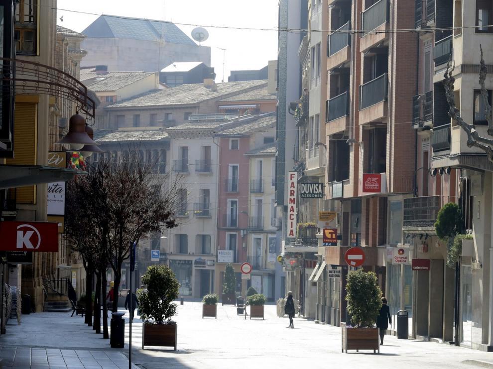 Los comerciantes de Huesca solicitan un protocolo de actuación para la apertura al público