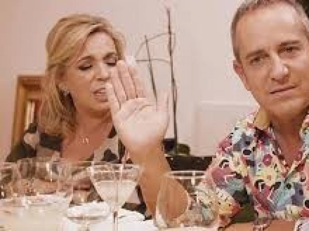 """""""Ven a cenar conmigo"""" se despide con Borrego"""