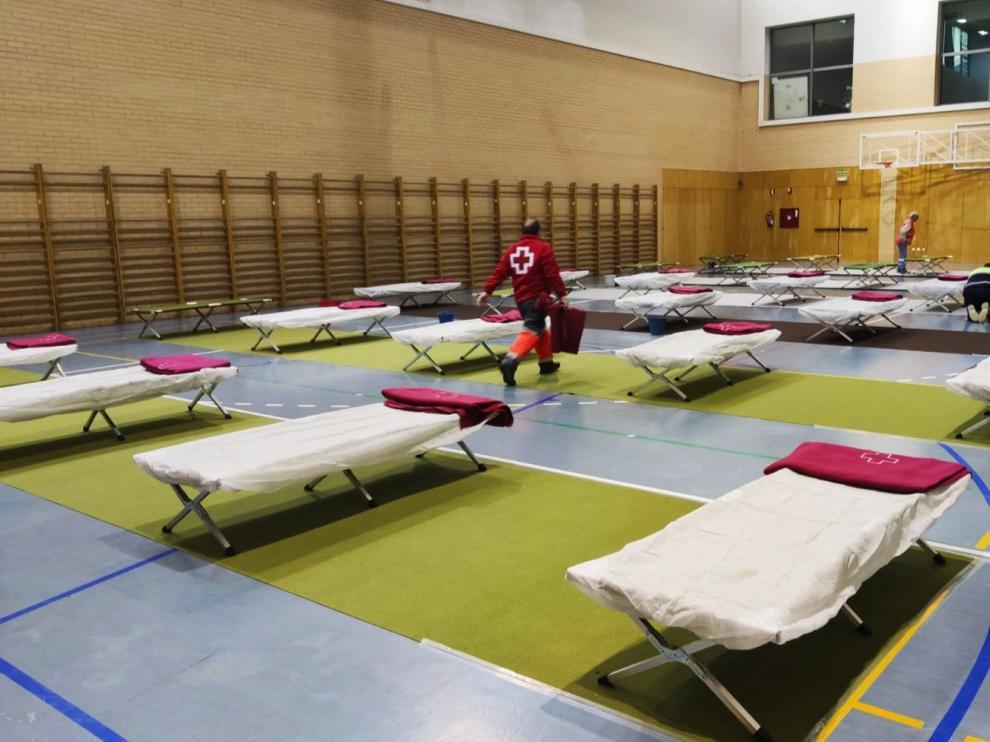 Cáritas Diocesana de Huesca acompaña a las personas sin hogar durante la crisis del cornavirus