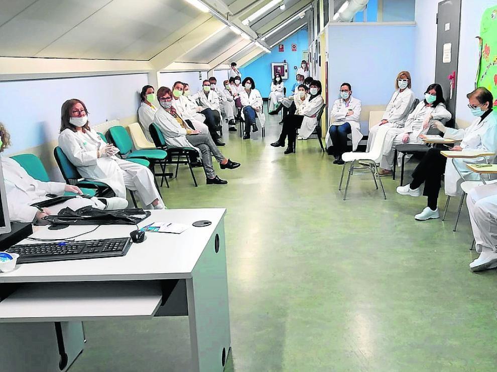 """Malestar entre los médicos tras las declaraciones de Lambán en las que les insta a tener """"más altura de miras y arrimar el hombro"""""""