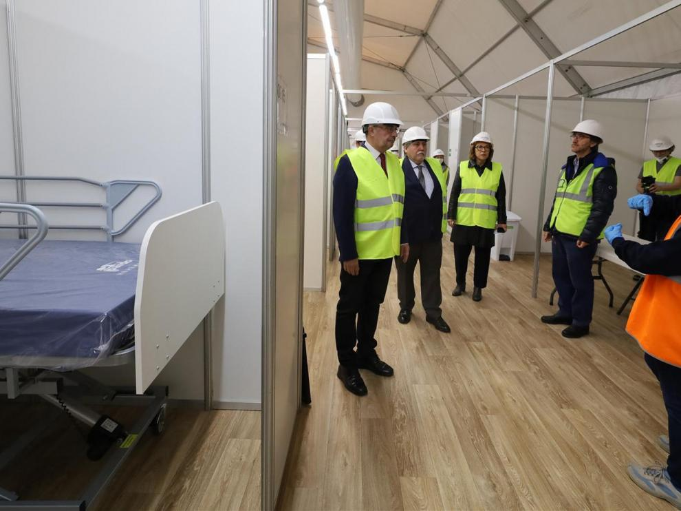 Los hospitales de campaña de la Feria y la Sala Multiusos costarán unos 4,8 millones de euros