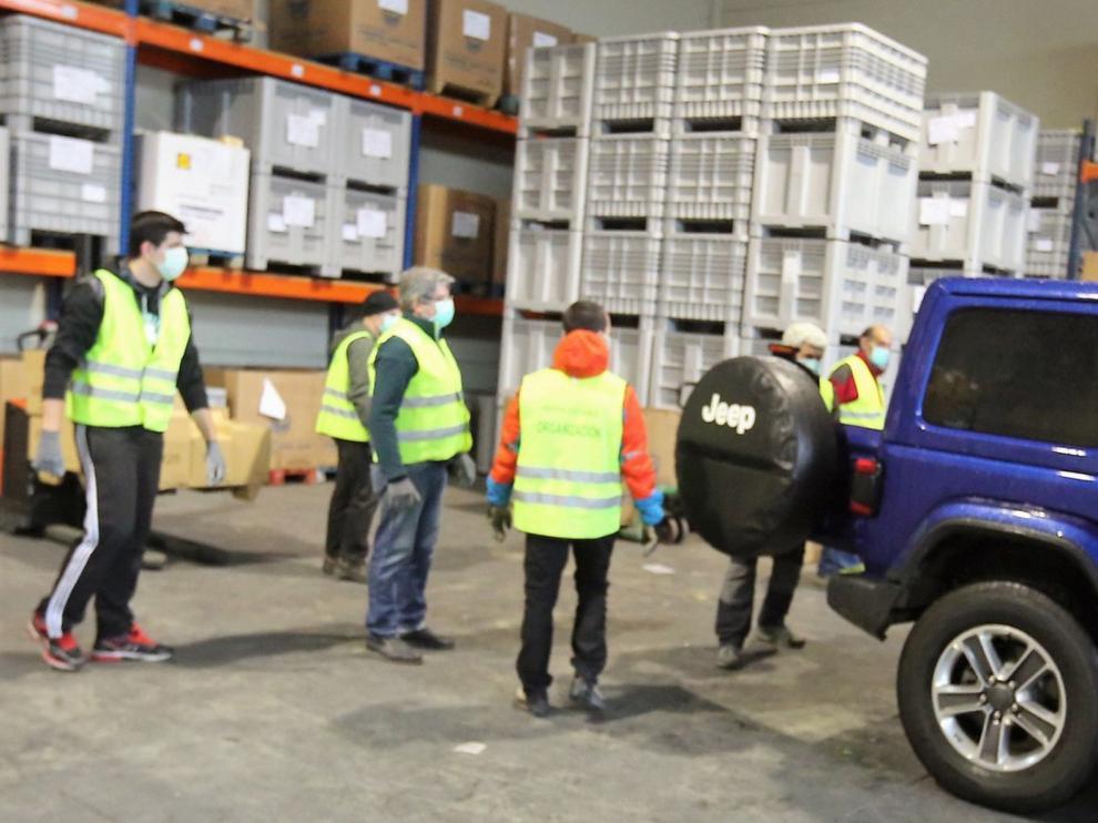 El Banco de Alimentos reparte 4.200 kilos en 15 días desde que se decretó el estado de alarma por el coronavirus