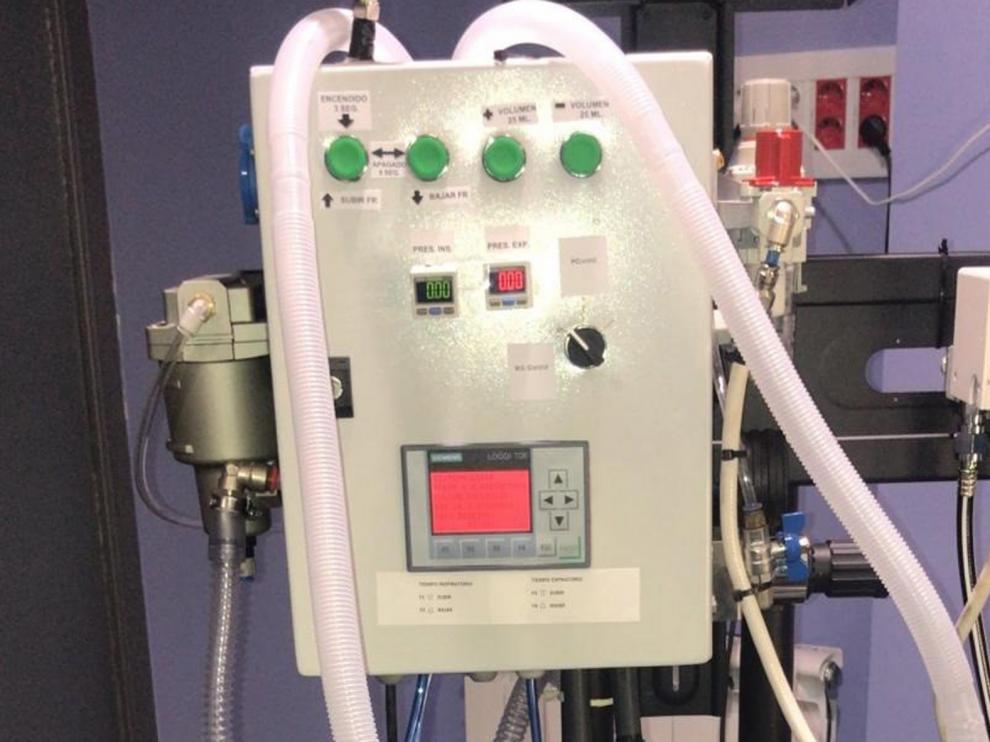 Desarrollan en un tiempo récord un respirador para pacientes de covid-19