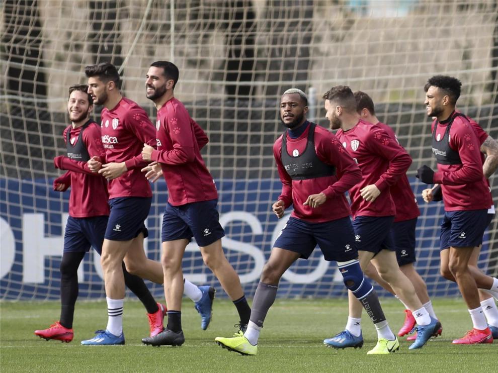 El Huesca ya tiene el protocolo de LaLiga para la vuelta a los entrenamientos