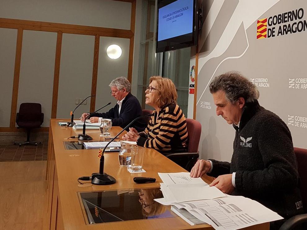 """Aragón espera """"días complicados"""" con datos de mortalidad """"muy serios"""""""