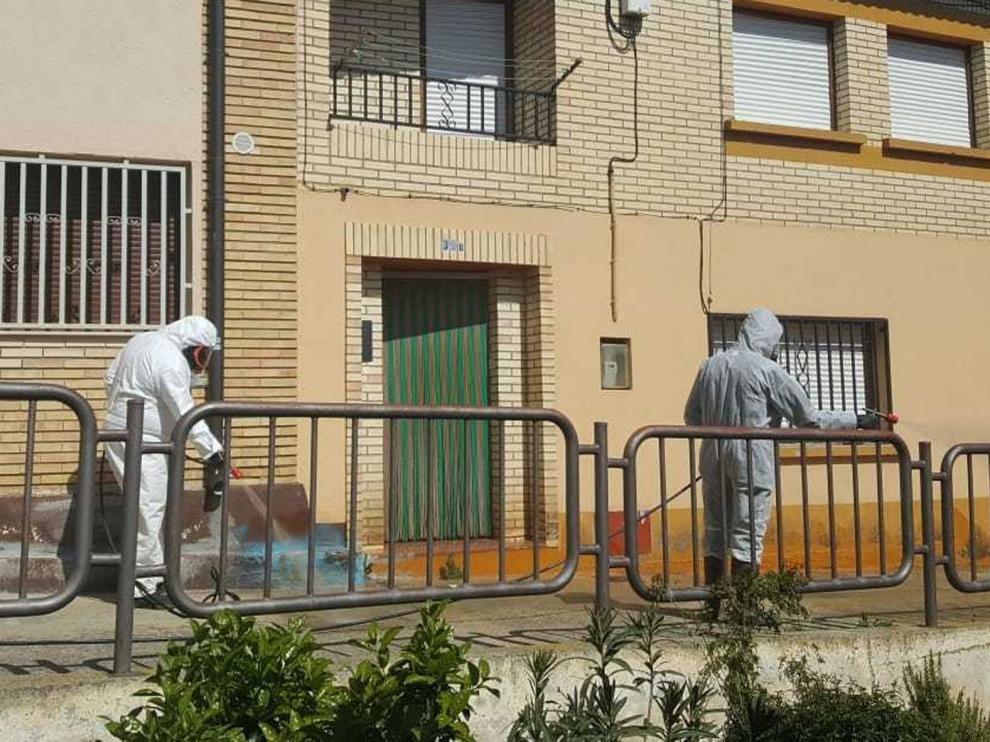 Alcalá de Gurrea se vuelca en el apoyo a las personas mayores frente al coronavirus