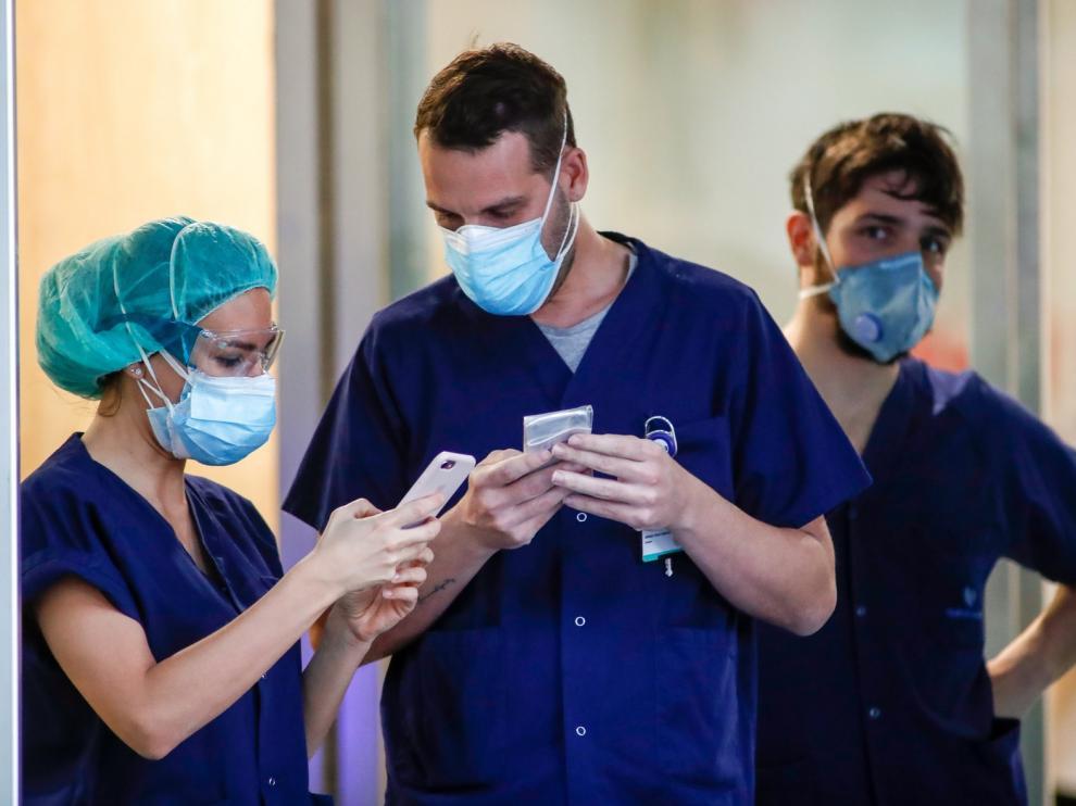 Madrid tiene 7.806 sanitarios contagiados de coronavirus