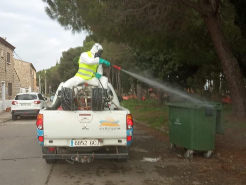 La Comarca de Los Monegros garantiza la recogida de residuos durante la pandemia del coronavirus