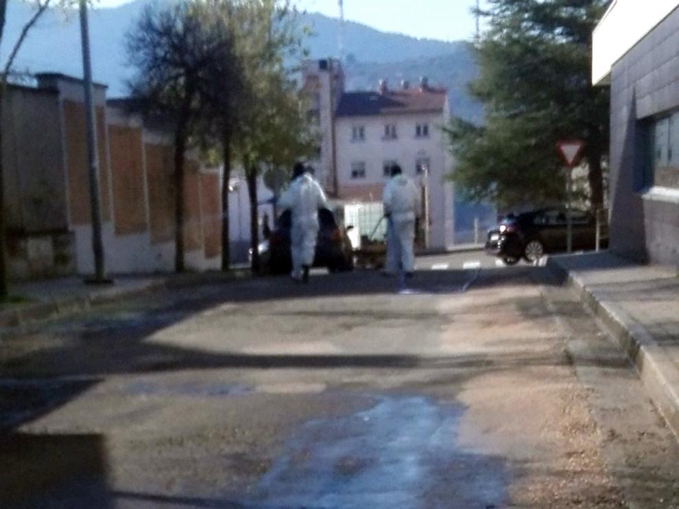 Biescas suma siete vecinos fallecidos, 29 ingresados en Huesca y 8 en Yéqueda