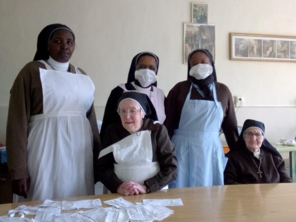 La hospedería de las Capuchinas de Barbastro ya aloja a sanitarios que combaten el coronavirus