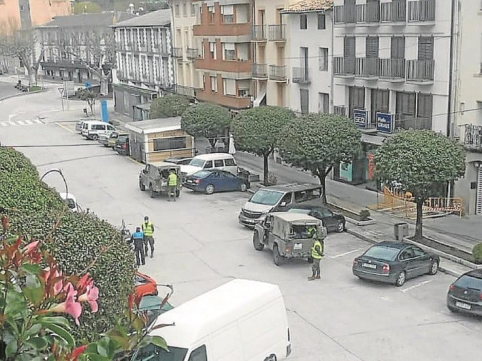 Se extrema el control de la movilidad en Ribagorza a causa del coronavirus