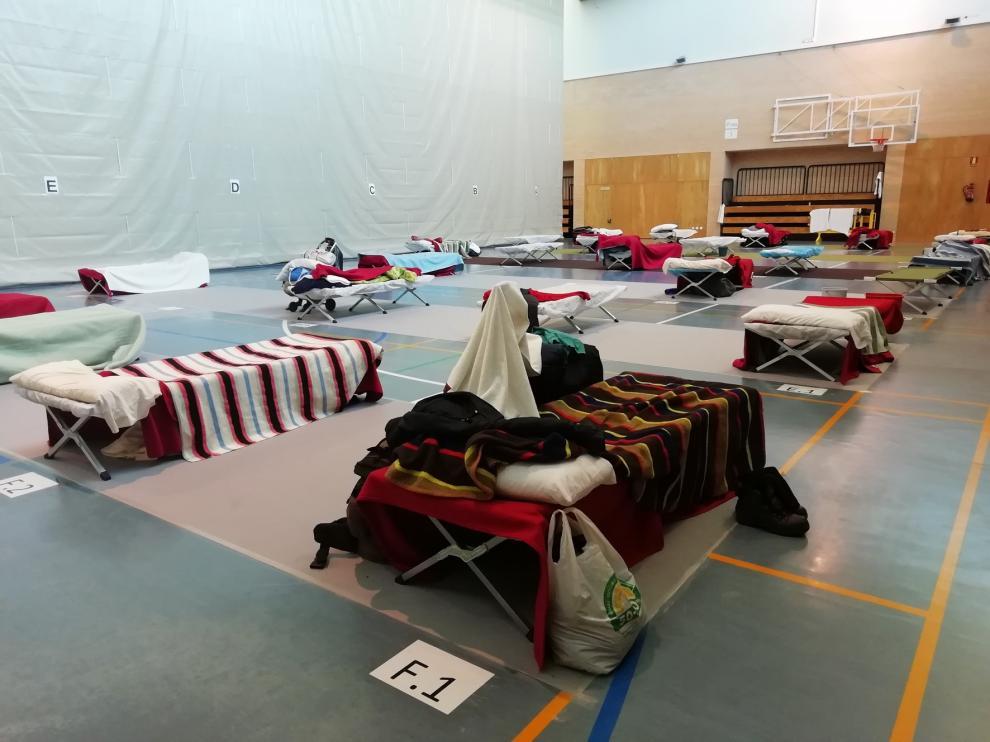 La difícil tarea de cuidar de vidas sin hogar en Huesca durante el confinamiento por el coronavirus