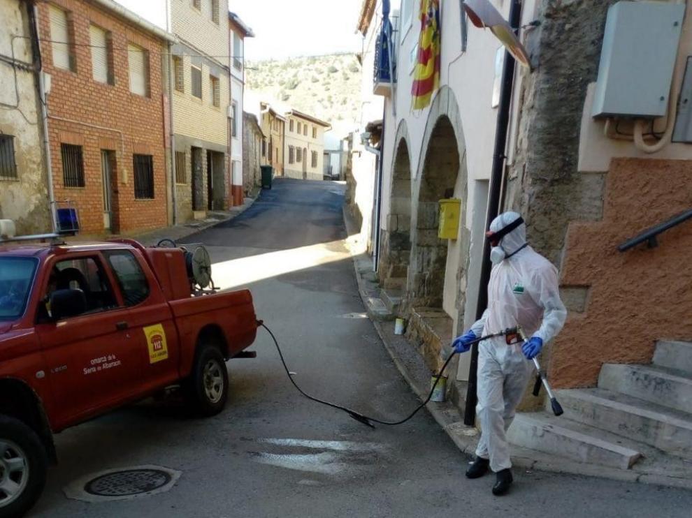 Sarga pone a 253 efectivos junto a Protección Civil para realizar labores de desinfección por el coronavirus