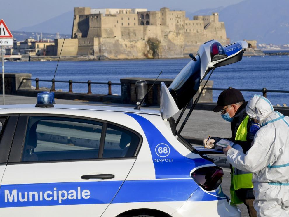Italia registra su mejor cifra de fallecidos en nueve días con 681
