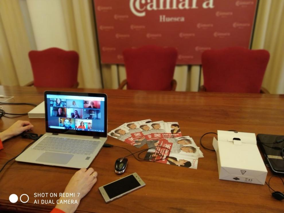 La Cámara de Huesca intensifica su vocación de servicio a las empresas y autónomos