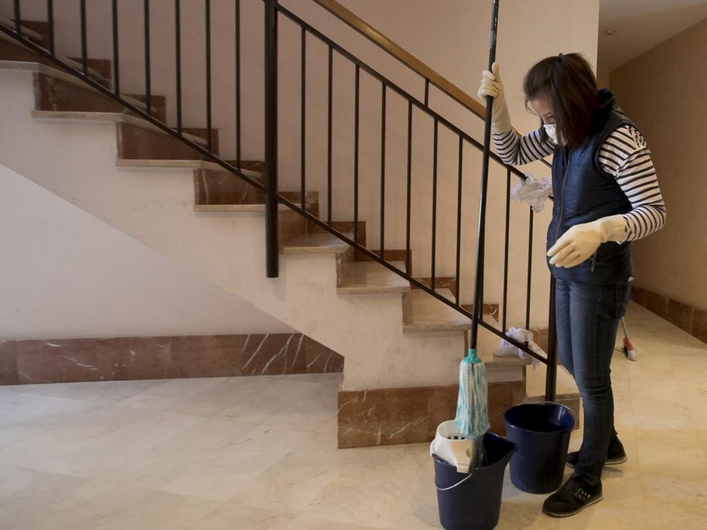 """Gisela Chango: """"La gente hace ejercicio en la escalera"""""""