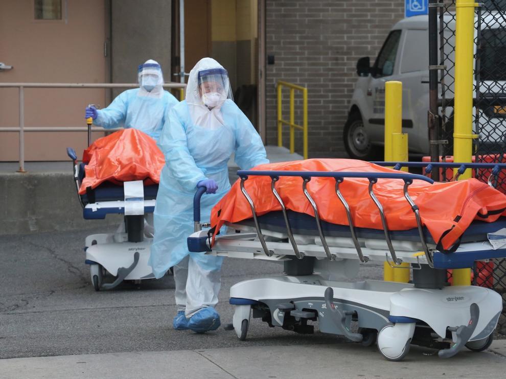 """EE. UU. advierte que la próxima semana será como el """"11-S"""" por la crisis sanitaria por el coronavirus"""