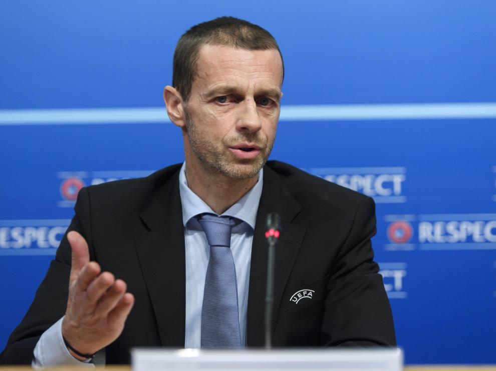 La UEFA no ha dado fechas para terminar las competiciones