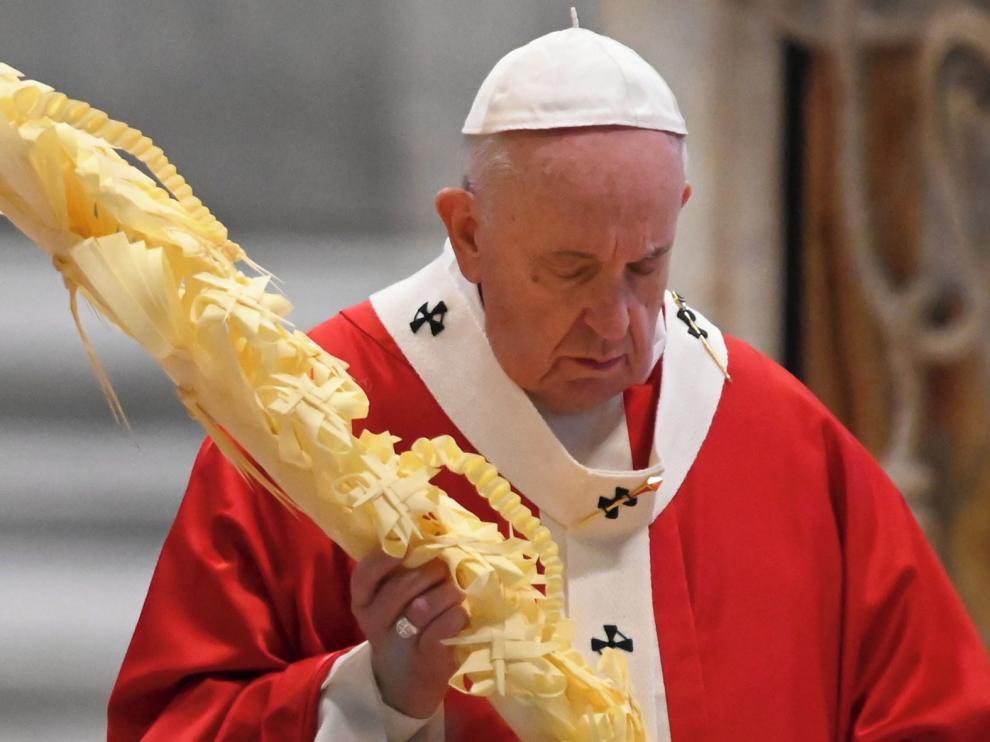 El Papa inicia una semana de ritos litúrgicos sin fieles