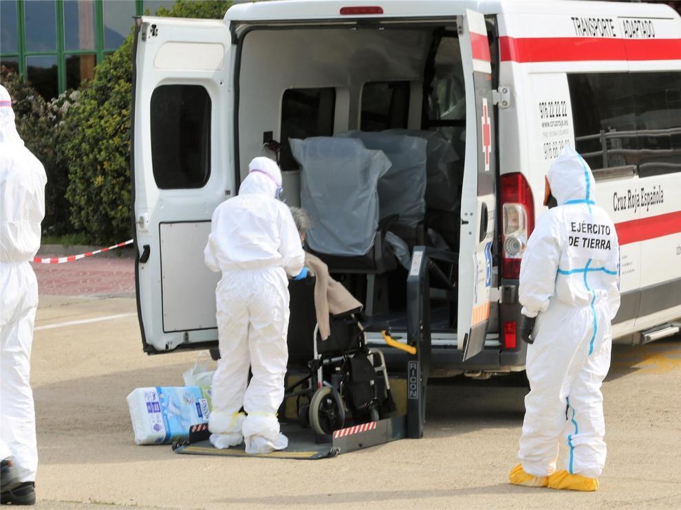 Se elevan a seis los fallecidos con coronavirus este lunes en la provincia de Huesca