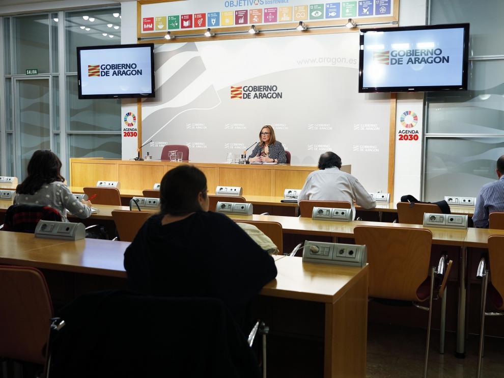 El Gobierno de Aragón ha desplegado una intensa labor para localizar proveedores de mascarillas