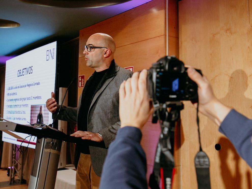 """Luis Javier Sanz: """"El gran inconveniente ahora mismo es la incertidumbre empresarial"""""""