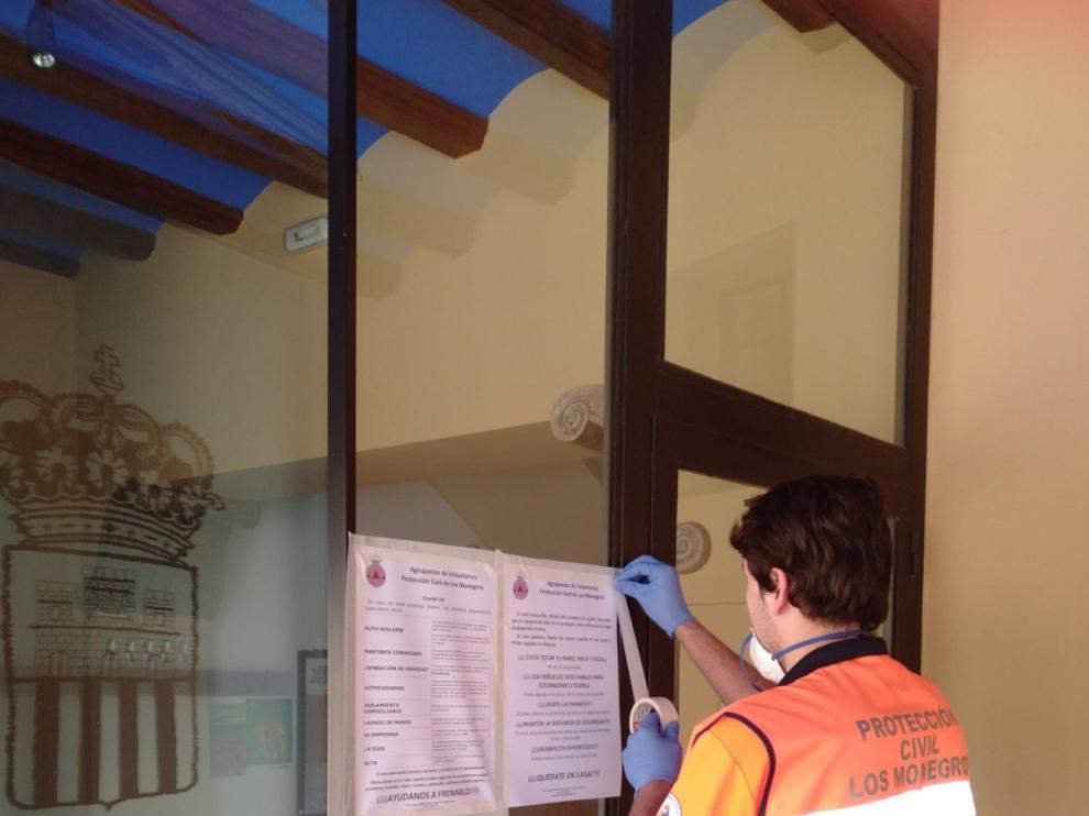La Comarca de Los Monegros refuerza las tareas de Protección Civil durante la crisis del coronavirus