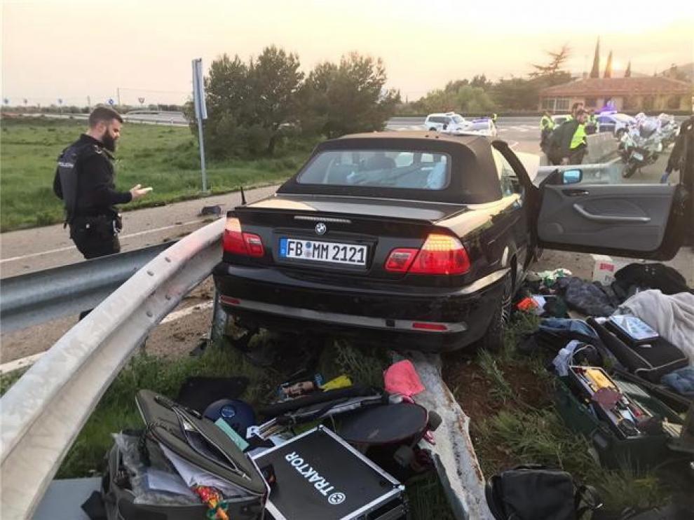 Los dos alemanes que se saltaron un control policial en el Somport seguirán en prisión