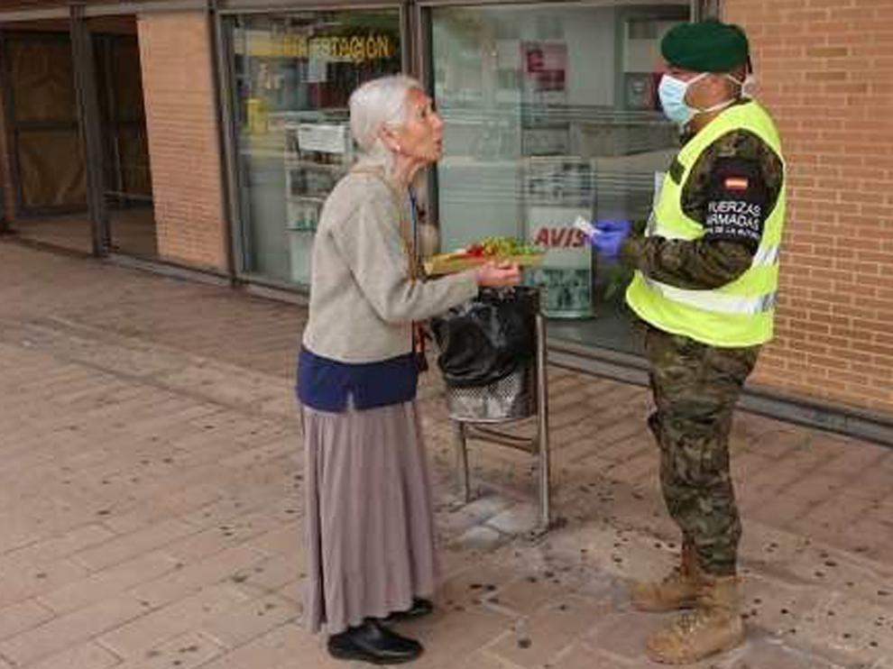 """Agradecimiento al Ejército: """"Sois nuestros héroes, nuestros ángeles de la guarda"""""""