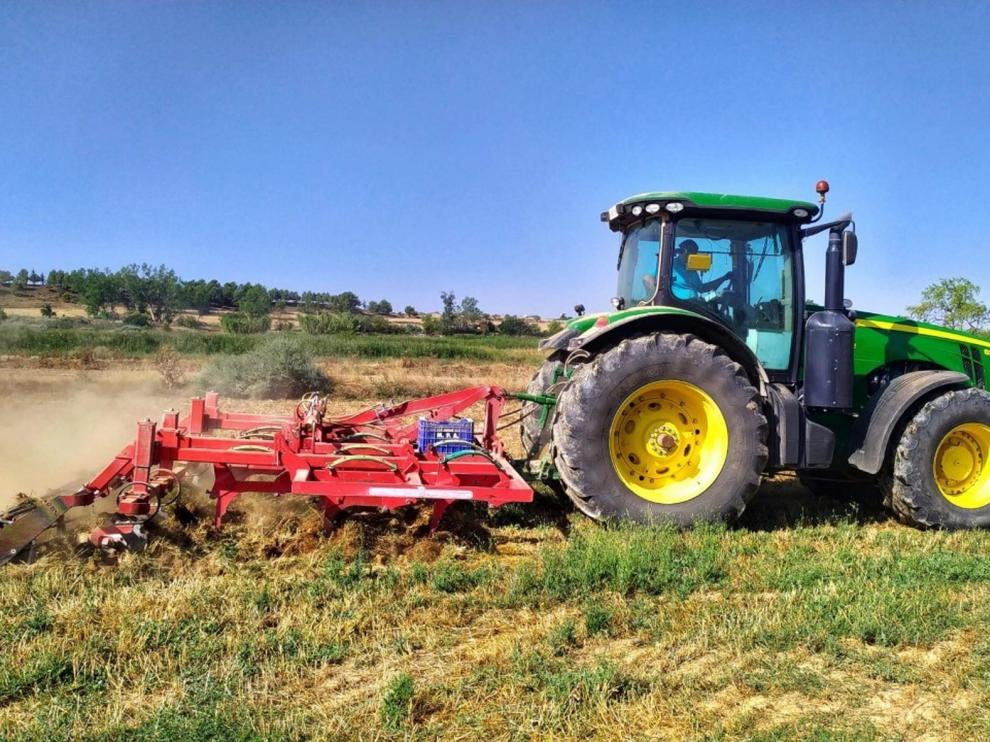 Agricultores de Aragón reciben 365 millones de euros del Feaga