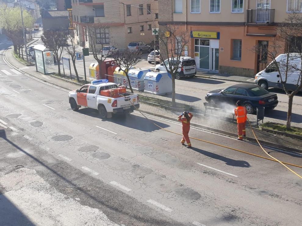 La Comarca Hoya de Huesca agradece la labor de los Voluntarios de Protección Civil durante el coronavirus