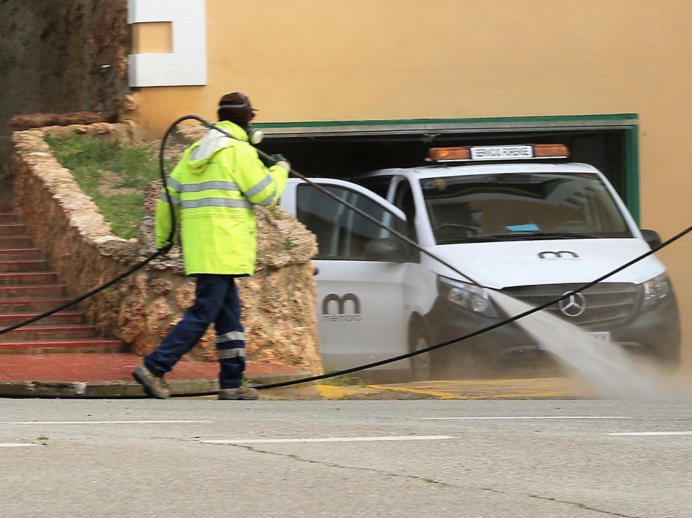 Plan de desinfección para evitar la propagación del coronavirus en residencias de Huesca, Sabiñánigo, Biescas y Jaca
