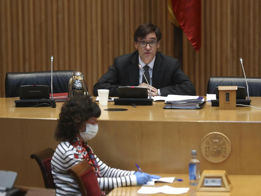 """Salvador Illa alerta sobre el peligro de relajar las medidas de protección ante el coronavirus y la """"desescalada"""" será compleja"""
