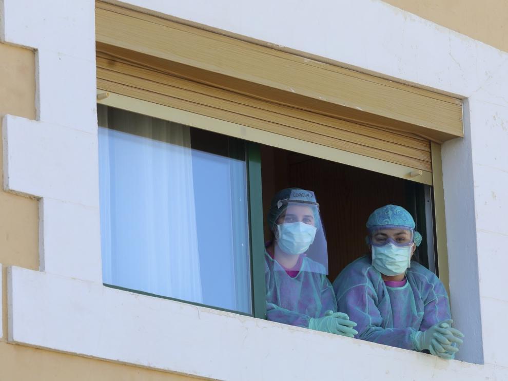 Confirmados 484 positivos en coronavirus en la provincia de Huesca con 98 hospitalizaciones y 66 fallecidos