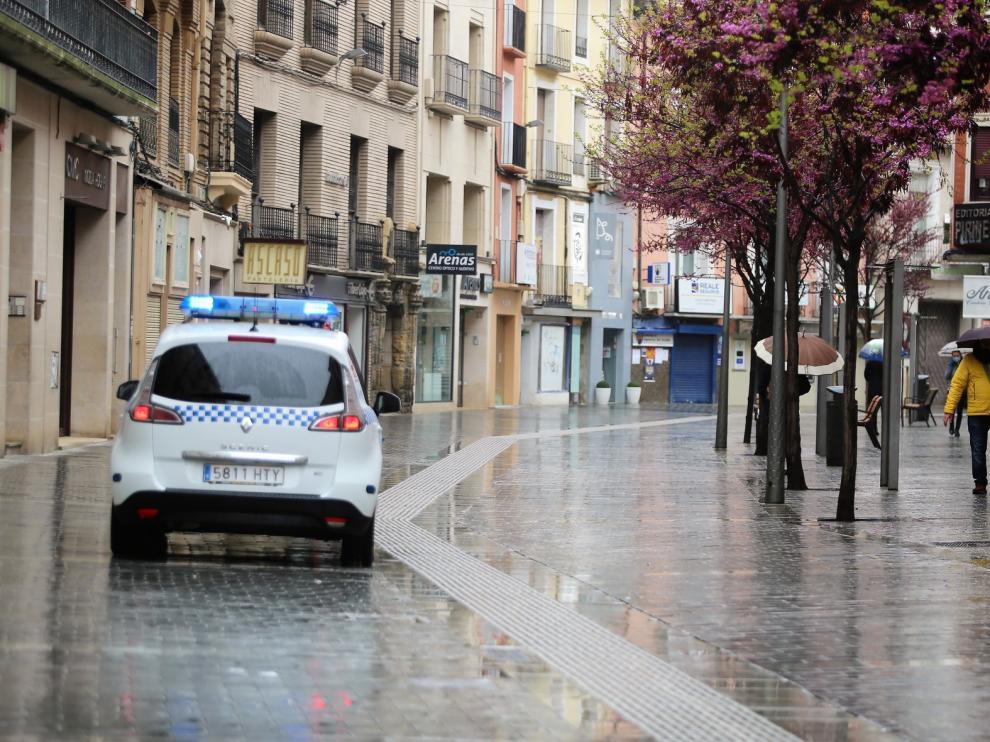 Primera detención en Huesca por incumplir reiteradamente las medidas del Estado de Alarma