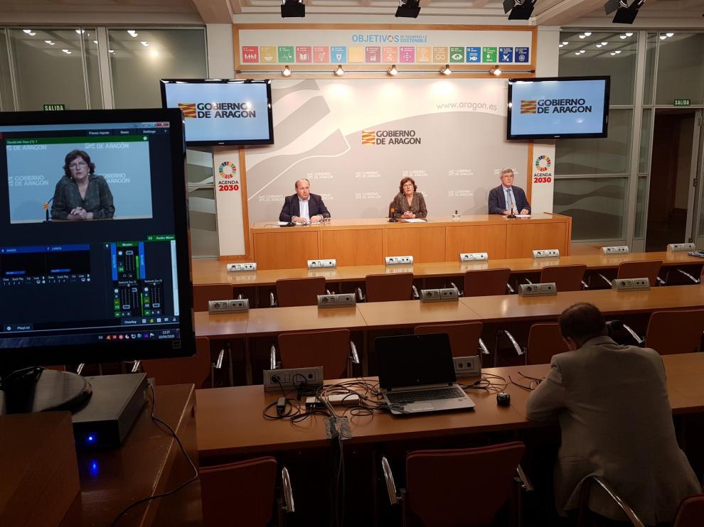 Los cinco centros Covid-19 abiertos en Aragón en tres semanas atienden en estos momentos a 161
