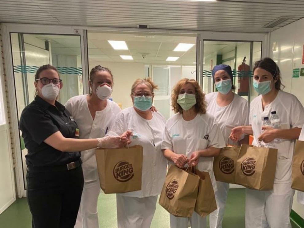 El personal de Urgencias del Hospital San Jorge agradece con un video todas las muestras de cariño