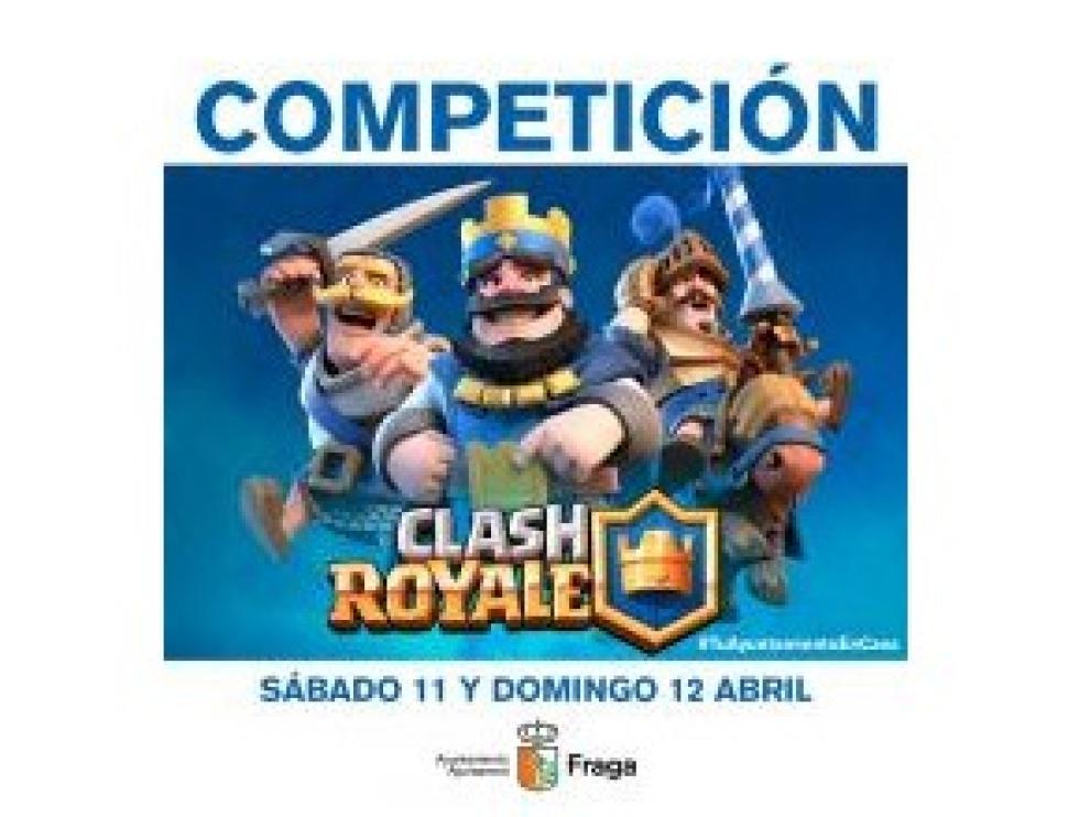 El Ayuntamiento de Fraga organiza un concurso de Clash Royale