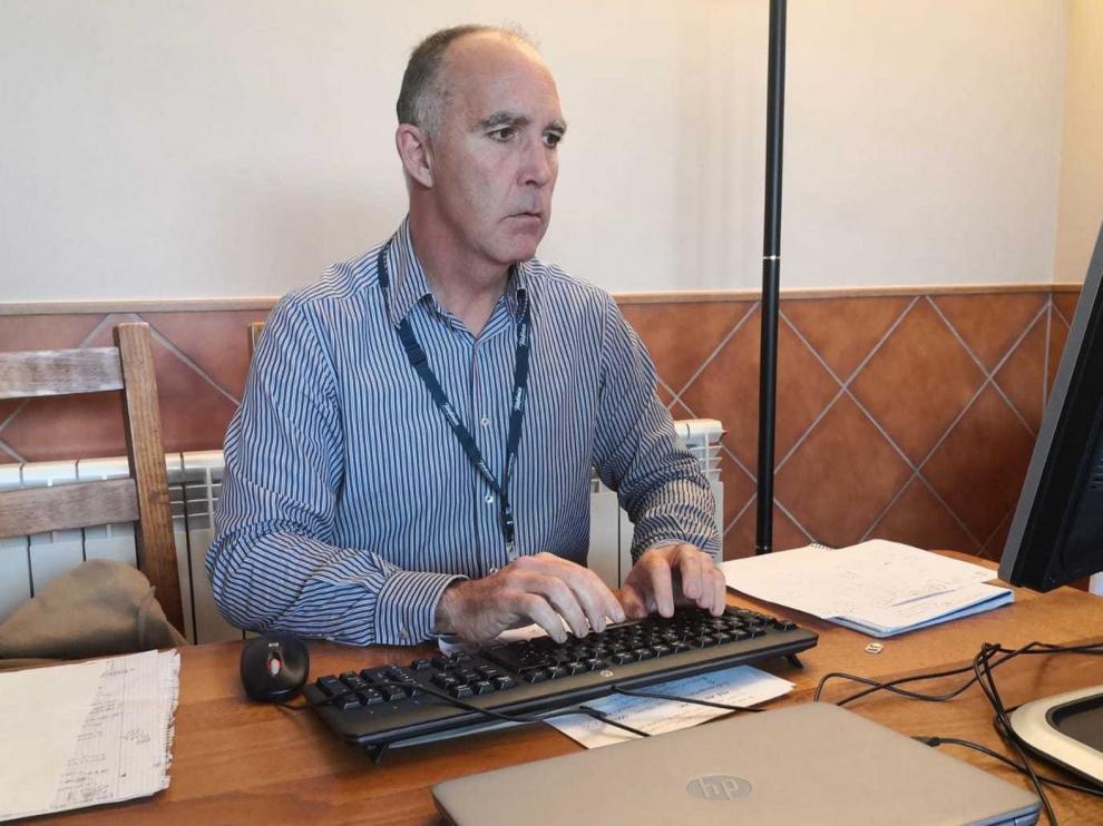 """Ignacio Domínguez: """"La prioridad es mantener la red para el desarrollo de los servicios esenciales"""""""